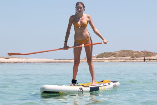 faire du paddle a Djerba lever de soleil