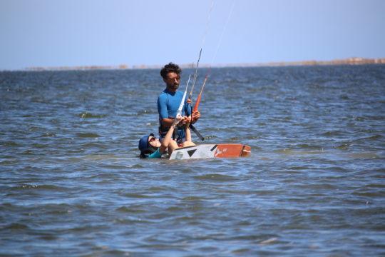 Water start kite djerba